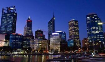 One night stand in Perth at night