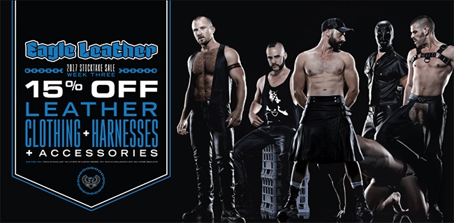 The Eagle Leather fetish wear store